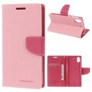 HTC DESIRE 626 Mercury goospery læder cover, pink Mobiltelefon tilbehør