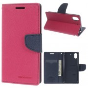 HTC DESIRE 626 Mercury goospery læder cover, rosa Mobiltelefon tilbehør
