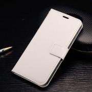 HTC ONE A9 læder cover med kort lommer, hvid Mobiltelefon tilbehør