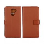 HUAWEI HONOR 7 læder cover med kort lommer, brun Mobiltelefon tilbehør