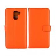 HUAWEI HONOR 7 læder cover med kort lommer, orange Mobiltelefon tilbehør