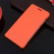 HUAWEI HONOR 7 læder cover, orange Mobiltelefon tilbehør