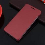 HUAWEI HONOR 7 læder cover, rød Mobiltelefon tilbehør