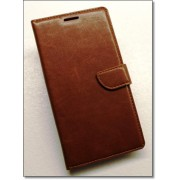 HUAWEI MATE S læder cover med kort lommer, brun Mobiltelefon tilbehør
