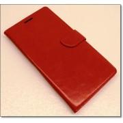 HUAWEI MATE S læder cover med kort lommer, rød Mobiltelefon tilbehør