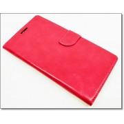 HUAWEI MATE S læder cover med kort lommer, rosa Mobiltelefon tilbehør