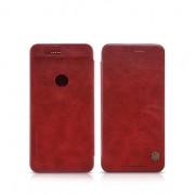 HUAWEI NEXUS 6P læder cover I business stil, rød Mobiltelefon tilbehør