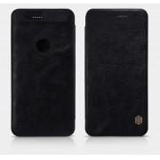 HUAWEI NEXUS 6P læder cover I business stil, sort Mobiltelefon tilbehør