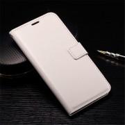 HUAWEI NEXUS 6P læder cover med kort holder, hvid Mobiltelefon tilbehør
