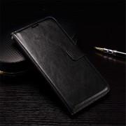 HUAWEI NEXUS 6P læder cover med kort holder, sort Mobiltelefon tilbehør