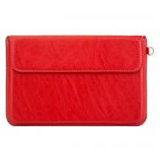 IPAD MINI taske / sleeve i læder, rød Ipad ogTablet tilbehør