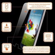 IPHONE 4S hærdet skærm beskyttelsesfilm Mobiltelefon tilbehør