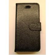 IPHONE 5S premium læder cover, sort Mobiltelefon tilbehør