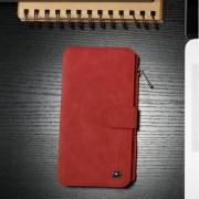 IPHONE 6 / 6s  2 i 1 luksus læder pung cover, rød Mobiltelefon tilbehør