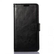 LG G3 S læder cover med kort lomme, sort Mobiltelefon tilbehør