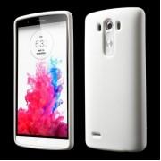 LG G3 silicone bag cover, hvid Mobiltelefon tilbehør