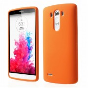 LG G3 silicone bag cover, orange Mobiltelefon tilbehør