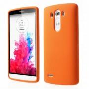 LG G3 silicone bag cover, orange Mobiltelefon tilbehør