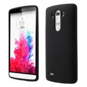 LG G3 silicone bag cover, sort Mobiltelefon tilbehør