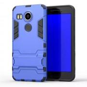 LG NEXUS 5X hybrid bag cover, blå Mobiltelefon tilbehør
