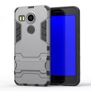 LG NEXUS 5X hybrid bag cover, grå Mobiltelefon tilbehør