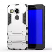 LG NEXUS 5X hybrid bag cover, sølv Mobiltelefon tilbehør