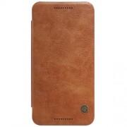 LG NEXUS 5X læder cover i business stil, brun Mobiltelefon tilbehør