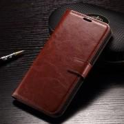 LG V10 læder cover med kort lommer, brun Mobiltelefon tilbehør