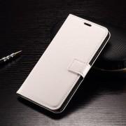 LG V10 læder cover med kort lommer, hvid Mobiltelefon tilbehør