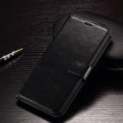 LG V10 læder cover med kort lommer, sort Mobiltelefon tilbehør