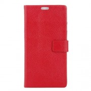 LG ZERO læder cover med kort lommer, rød Mobiltelefon tilbehør