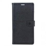 LG ZERO læder cover med kort lommer, sort Mobiltelefon tilbehør