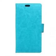 LG ZERO læder pung cover, blå Mobiltelefon tilbehør