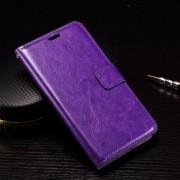 MICROSOFT LUMIA 950 læder cover med kort lommer, lilla Mobiltelefon tilbehør