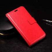 MICROSOFT LUMIA 950 læder cover med kort lommer, rød Mobiltelefon tilbehør