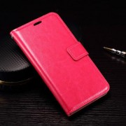 MICROSOFT LUMIA 950 læder cover med kort lommer, rosa Mobiltelefon tilbehør