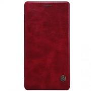 ONEPLUS 2 læder cover i business stil, rød Mobiltelefon tilbehør