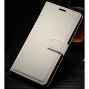 ONEPLUS 2 læder cover med kort lomme, hvid Mobiltelefon tilbehør