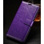 ONEPLUS 2 læder cover med kort lomme, lilla Mobiltelefon tilbehør