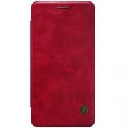 ONEPLUS X læder cover i business stil, rød Mobiltelefon tilbehør