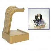 APPLE WATCH oplader holder / stander i aluminium, guld Smartwatch tilbehør