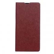 SONY XPERIA Z5 COMPACT læder cover med kort holder, brun Mobiltelefon tilbehør