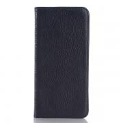 HTC ONE M9 læder cover, sort Mobiltelefon tilbehør