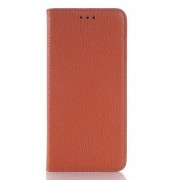 HTC ONE M9 læder cover, brun Mobiltelefon tilbehør