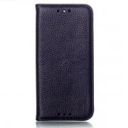 HTC ONE M8 læder cover, sort Mobiltelefon tilbehør
