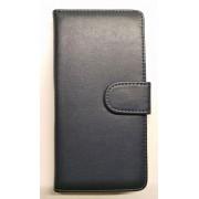HUAWEI ASCEND P8 LITE læder pung cover, mørkeblå Mobiltelefon tilbehør