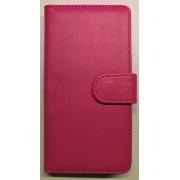 HUAWEI ASCEND P8 LITE læder pung cover, rosa Mobiltelefon tilbehør