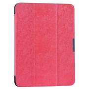 Samsung Galaxy Tab 4 10.1 læder cover, rosa Ipad ogTablet tilbehør