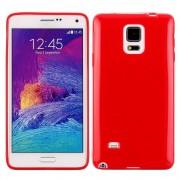 SAMSUNG GALAXY NOTE 4 bag cover rød Mobiltelefon tilbehør