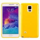 SAMSUNG GALAXY NOTE 4 bag cover gul Mobiltelefon tilbehør